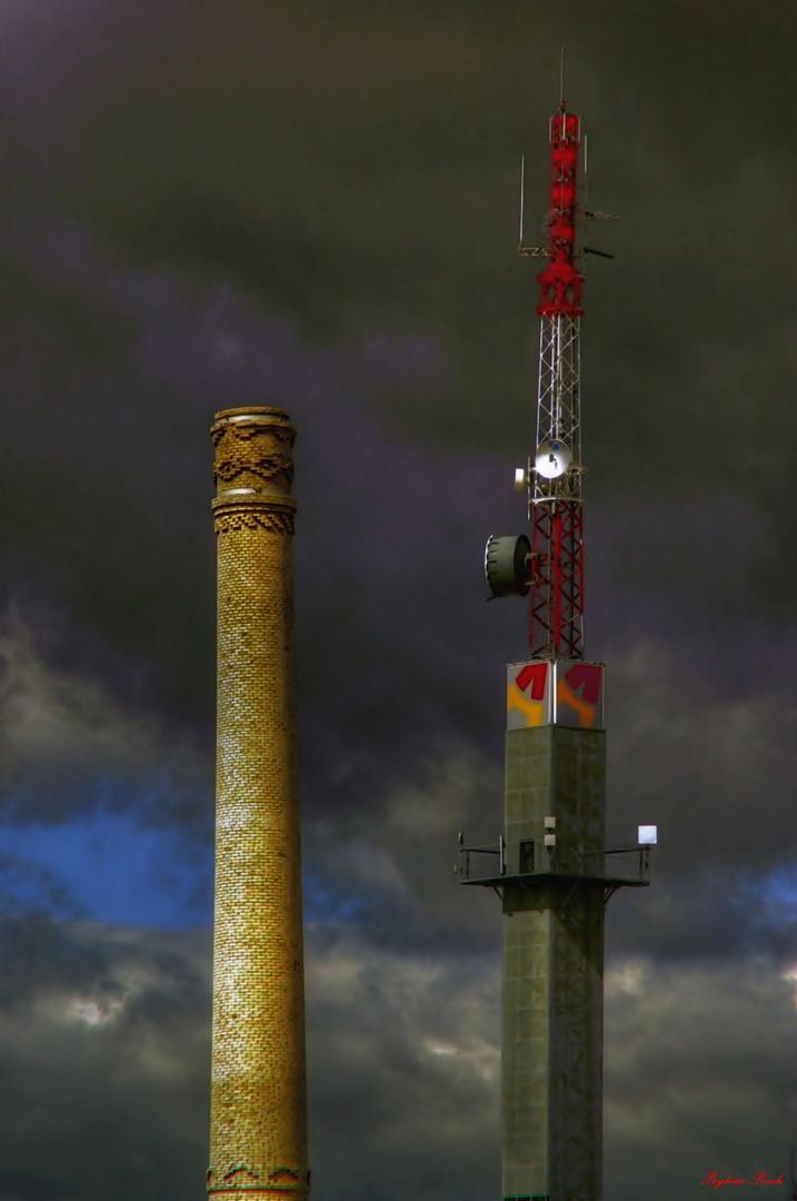 2 torres.