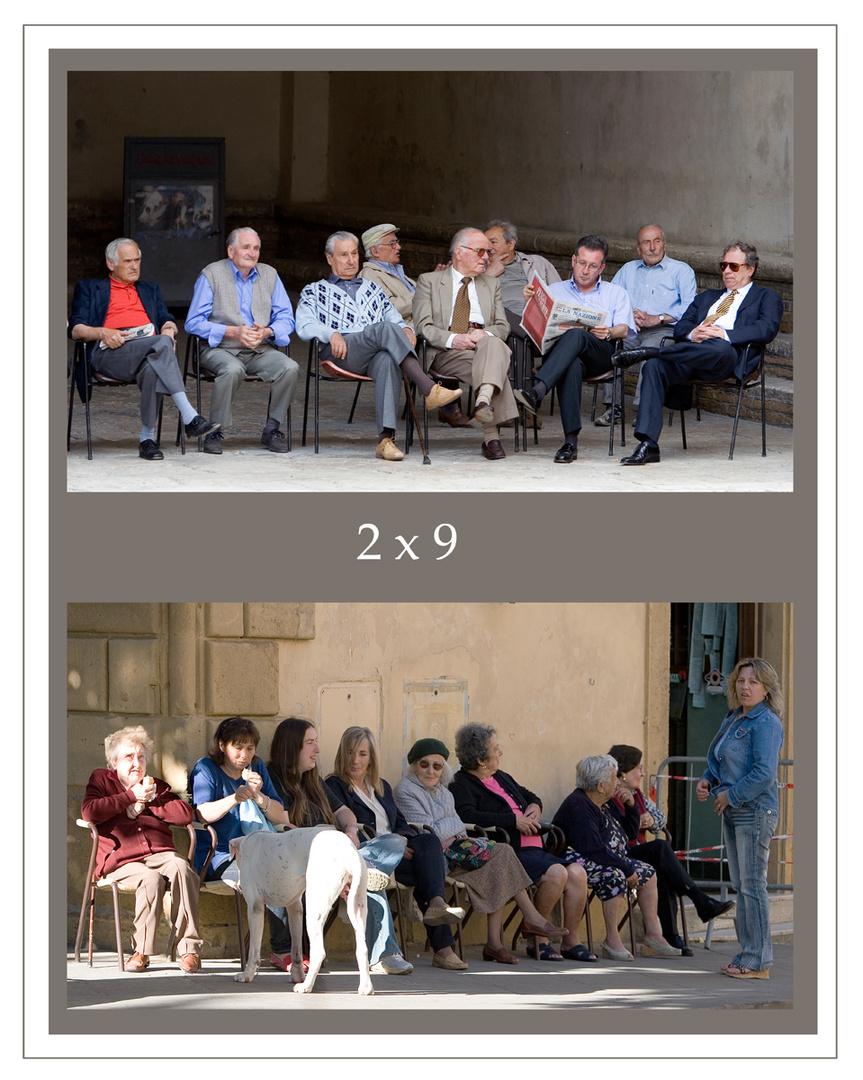 2 x 9 oder der Unterschied