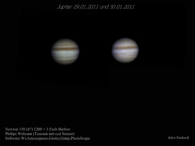2 X Jupiter zum Abschied