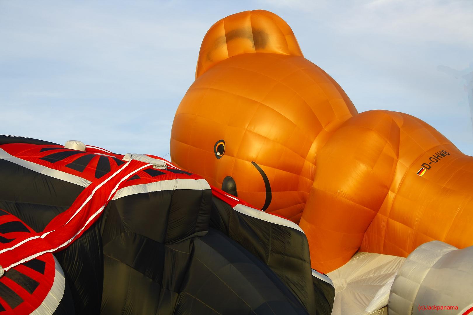 20. WARSTEINER INTERNATIONALE MONTGOLFIADE ( 8 ) / Eine Ballonfahrt ist anstrengend und macht müde