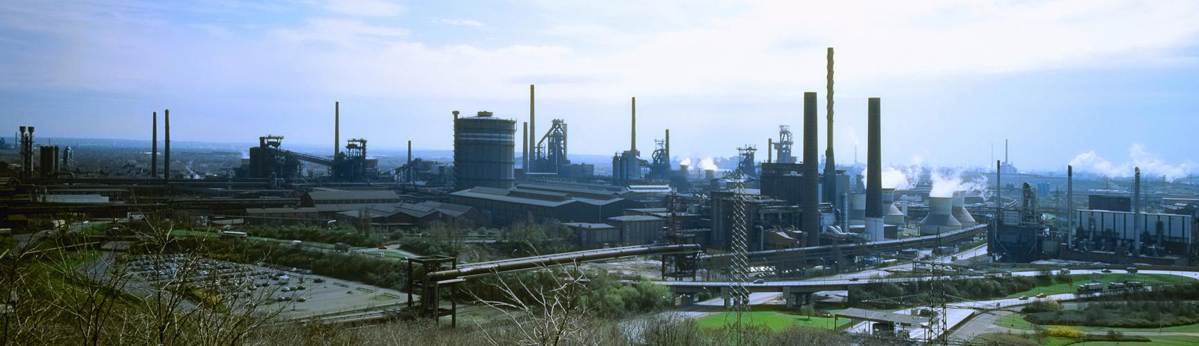 2000 04 Panorama Thyssen Krupp Stahl AG TKS