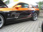 2012 Ford Mustang Treffen in der Classic-Stadt-Ffm schöne Sonderlackierung