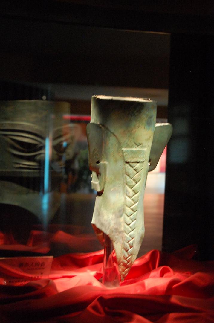 2013 Chengdu: Die mysteriösen Köpfe von Sanxingdui tragen Zopf