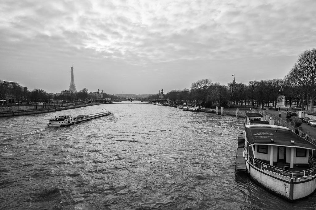 201303 Paris - Seine - Eifelturm