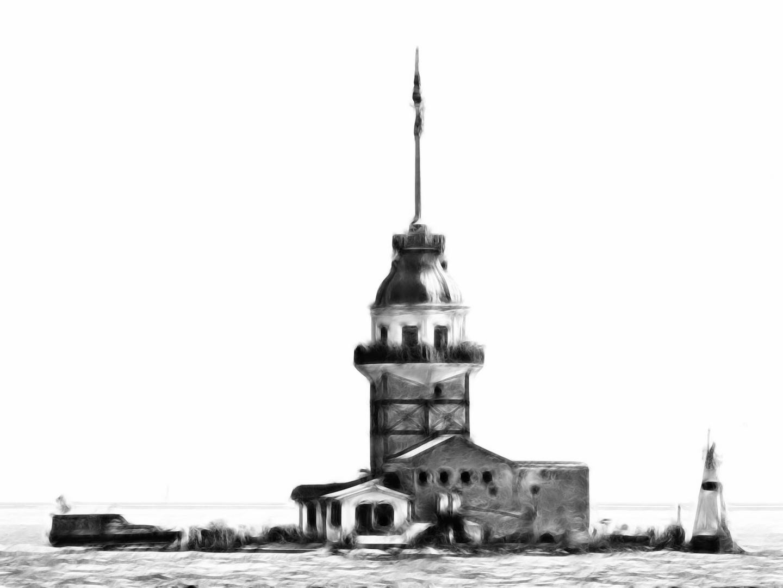 201305 Istanbul - Mädchenturm