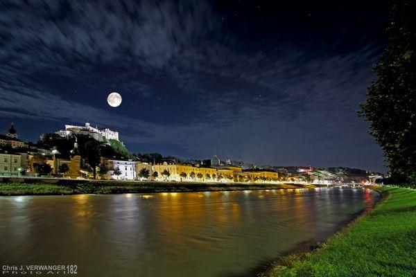 """20150731 """"Blue Moon Day"""" Salzburg mit Festung"""
