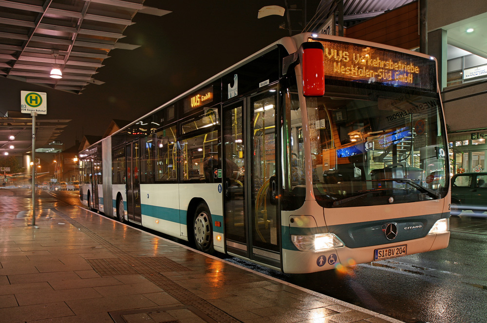 204 night zob siegen foto bild bus nahverkehr bus verkehr fahrzeuge bilder auf. Black Bedroom Furniture Sets. Home Design Ideas