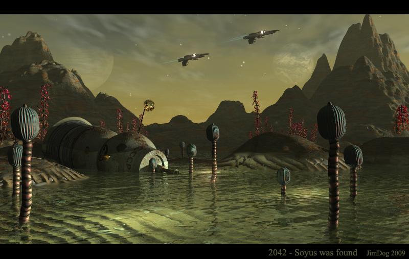 2042 - Soyus was found
