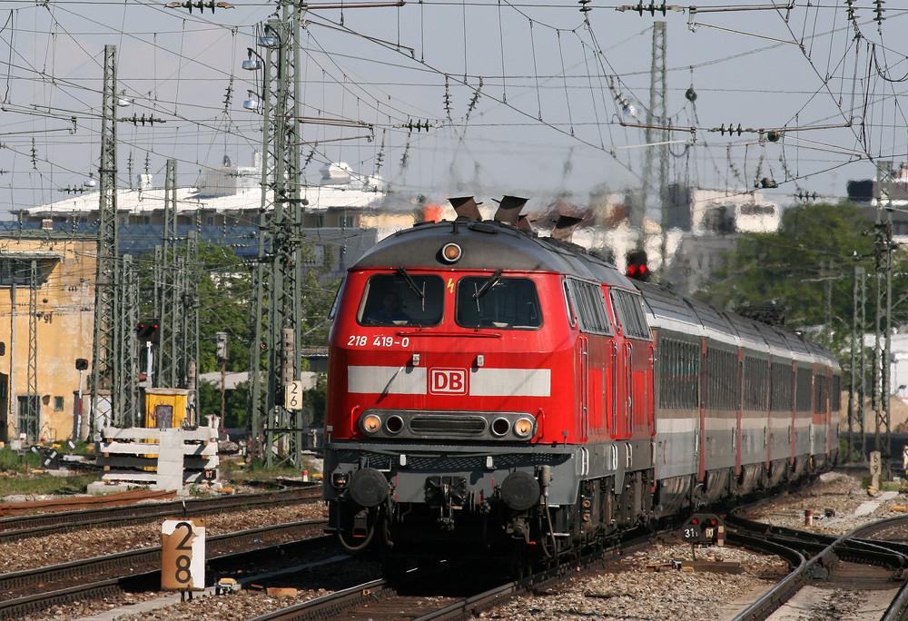 218 Die wohl schönste Lokomotive