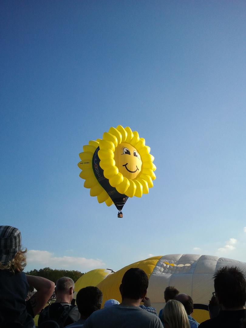 22. Warsteiner Internationale Montgolfiade 2012
