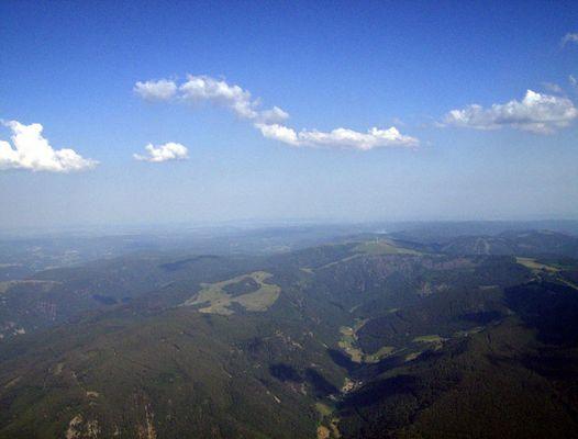 2200m Höhe.....über dem Schauinslandgipfel