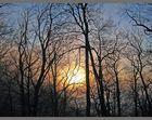 23. Dezember 2006 - Sonnenuntergang auf der