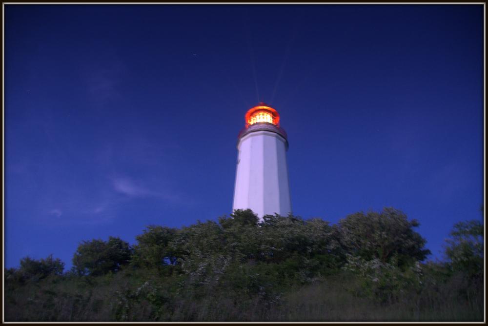 23 Uhr am Leuchtturm Dornbusch..und noch ziehmlich hell
