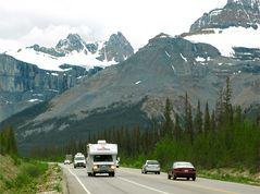 230km fesselnde Pracht- Icefields Parkway