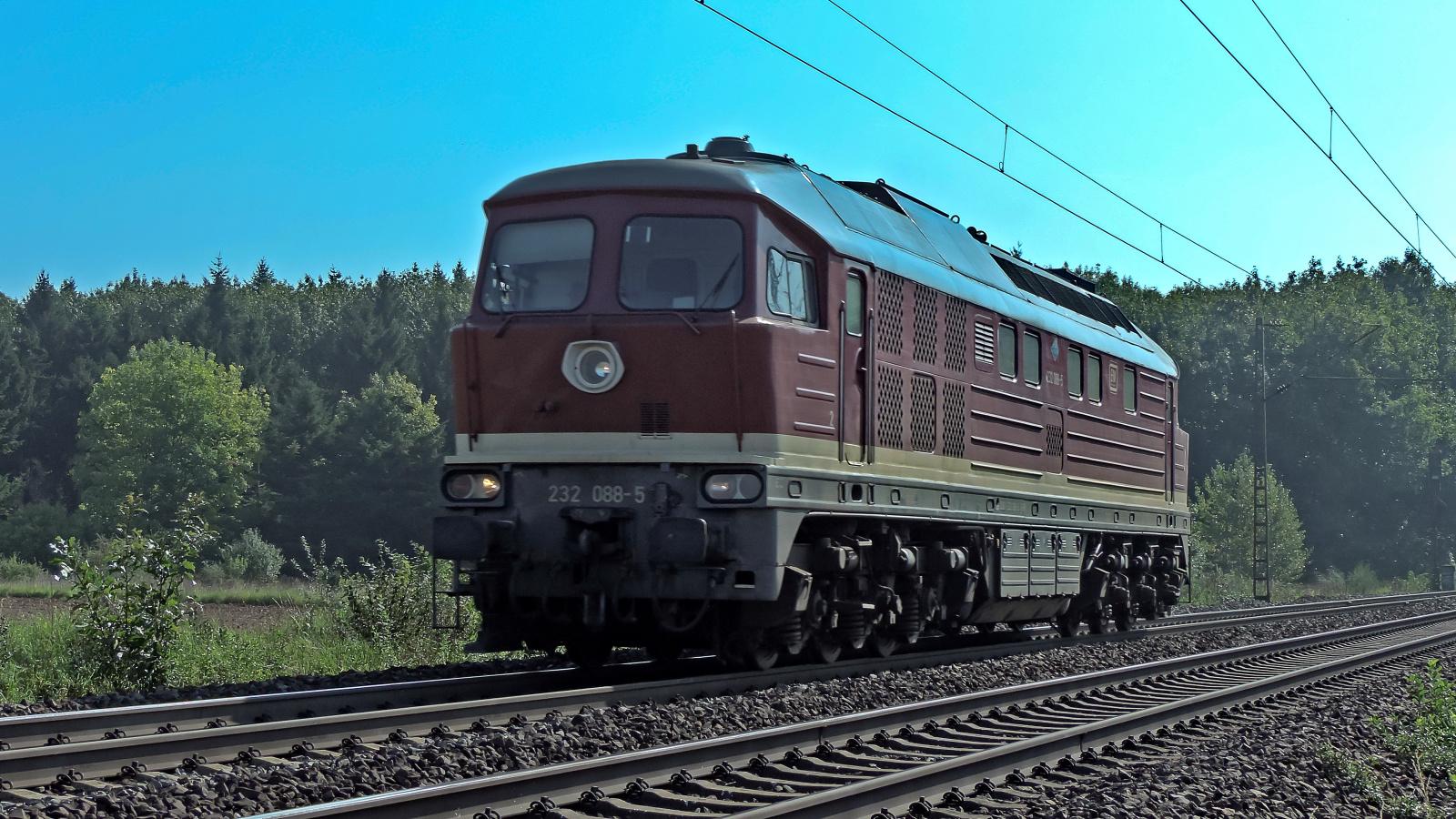 232 088-5 Solofahrt