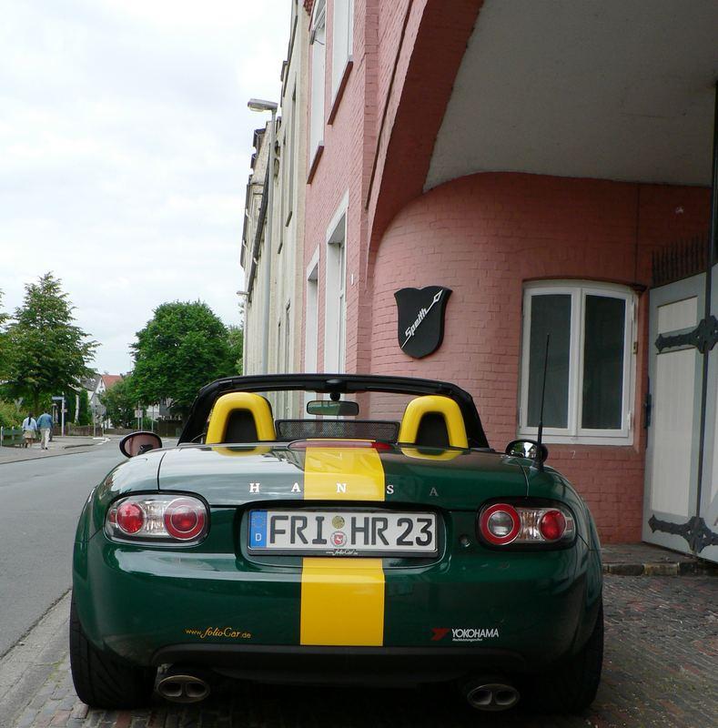23R vor dem alten Hansa-Werk in Varel