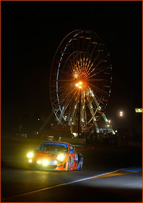 24 H Le Mans Flying Lizard