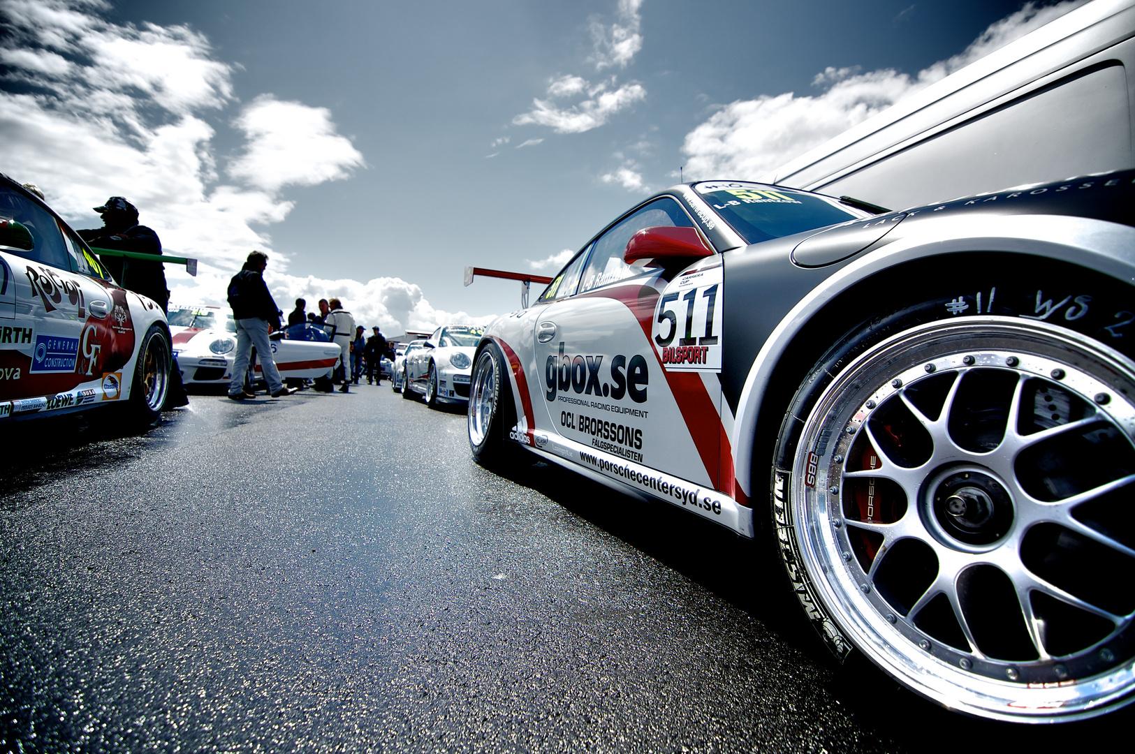 24 H Rennen Nürburgring, Porsche Fahrerlager