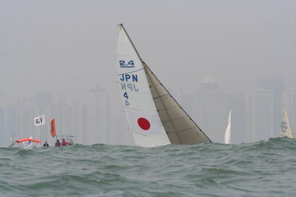 2.4 IFDS Qingdao International Regatta 2008 - Olympic Sailing Spot