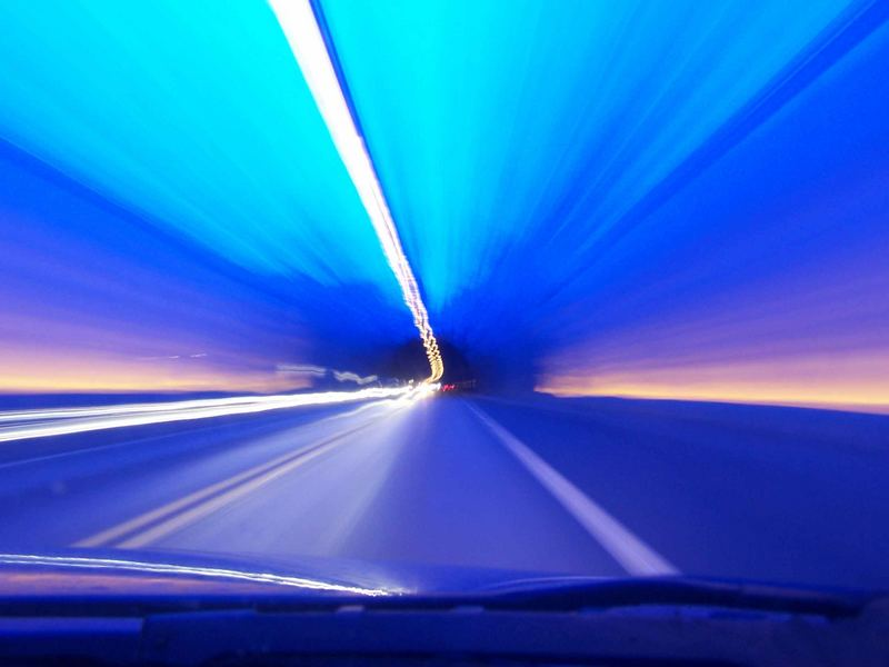 ...24 km Tunnelblick...