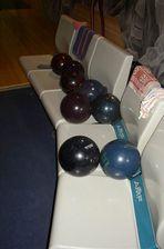 24h-Bowling  -  die eigenen Bälle