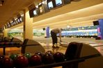 24h-Bowling  -  Zwangspause wegen Reinigung der Bahn