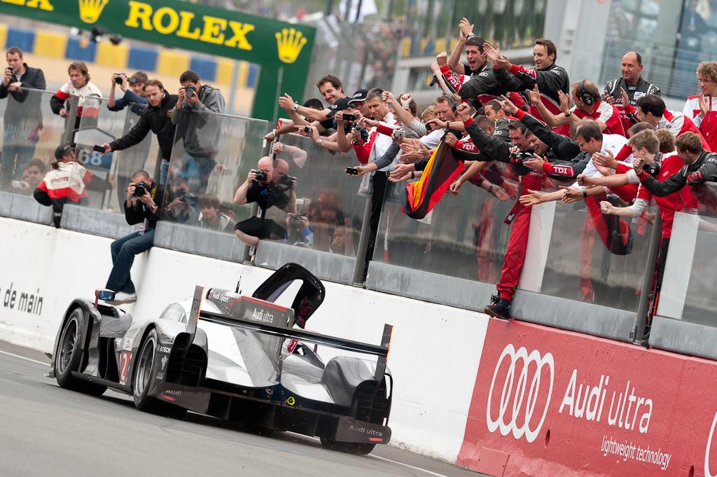 24h du Mans 2011 - Die Sieger - Audi Sport Team Joest - Audi R18