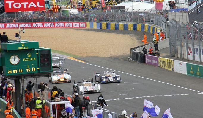 24h du Mans - C'est l'arrivée
