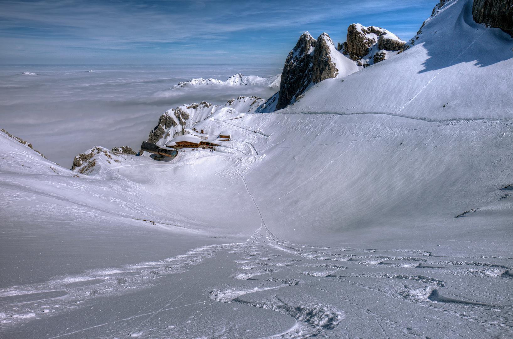 2,50m Schnee