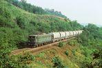 251 005 auf der Rübelandbahn 1983
