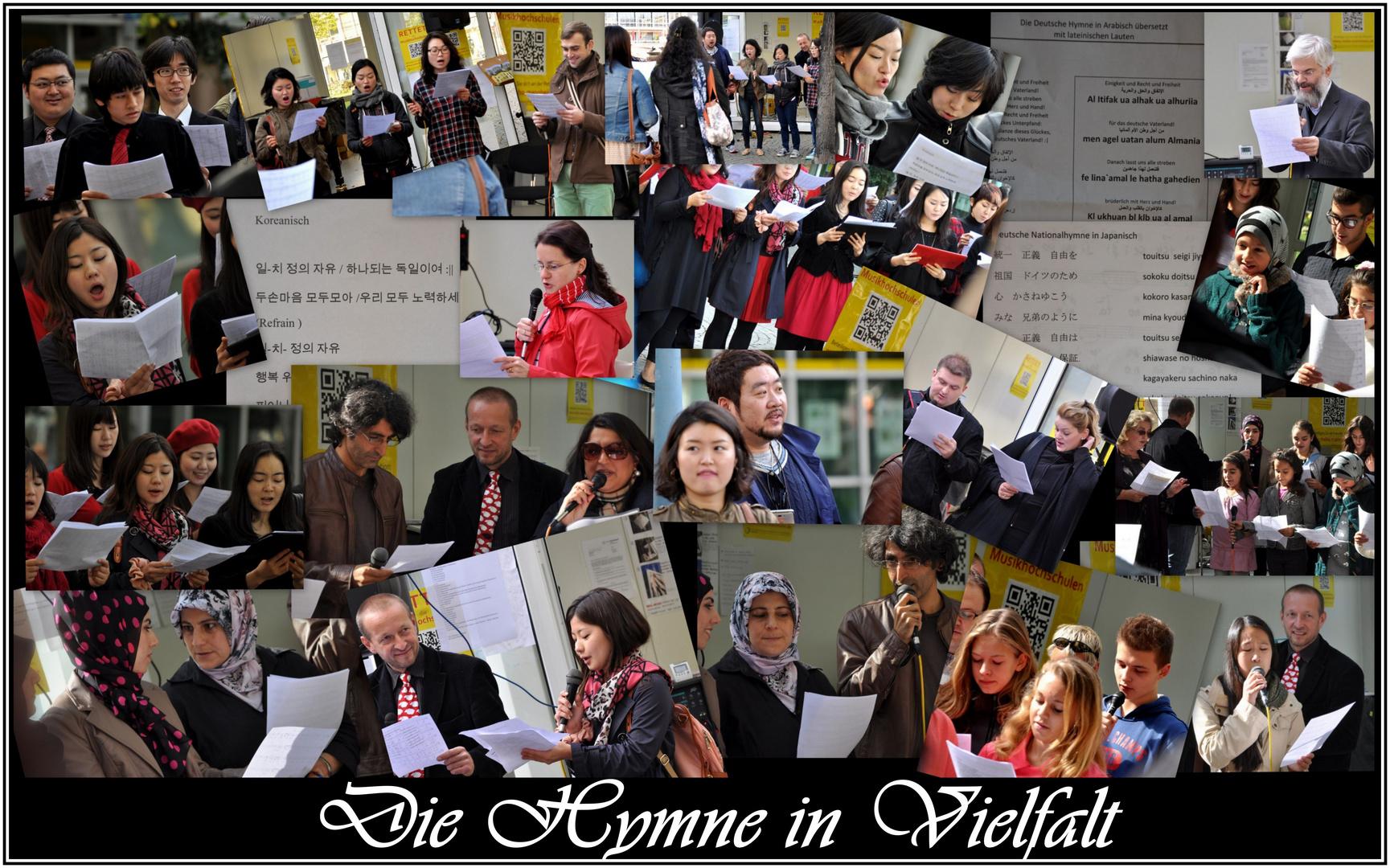 26 Sprachen......1 Hymne