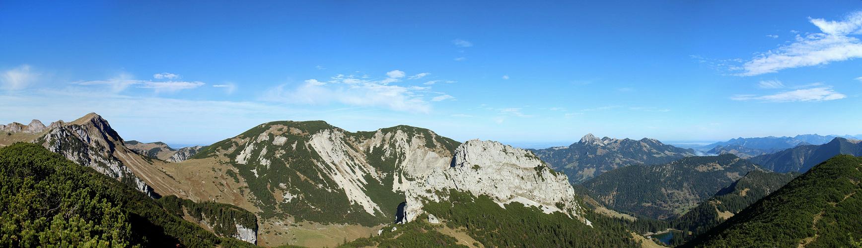 26.10.2013 Auerspitz (1811 m) Grandiose Aussicht