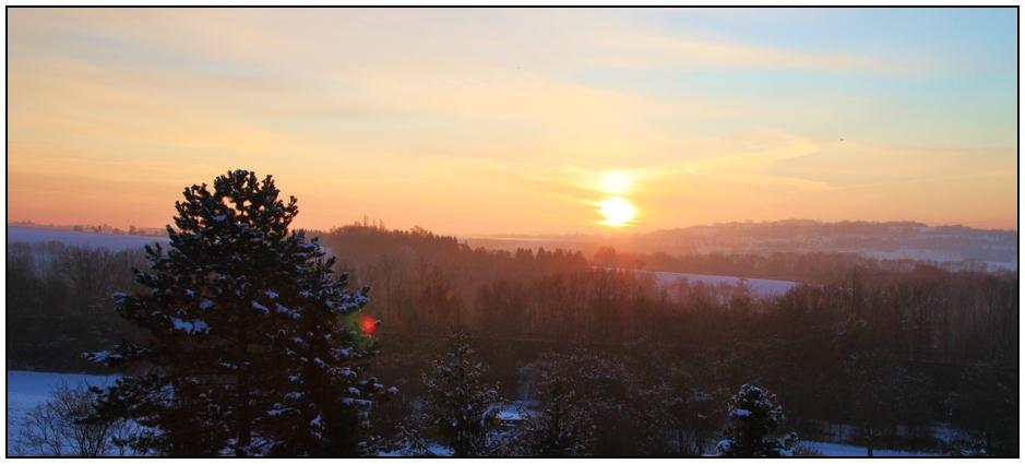 27.11.10, 8:15h - die Sonne ...