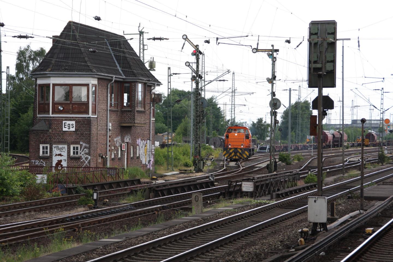 272 006 in Hamburg-Elbgaustraße a.