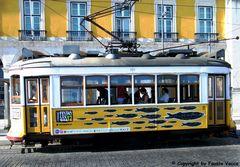 28, il tram di Lisbona