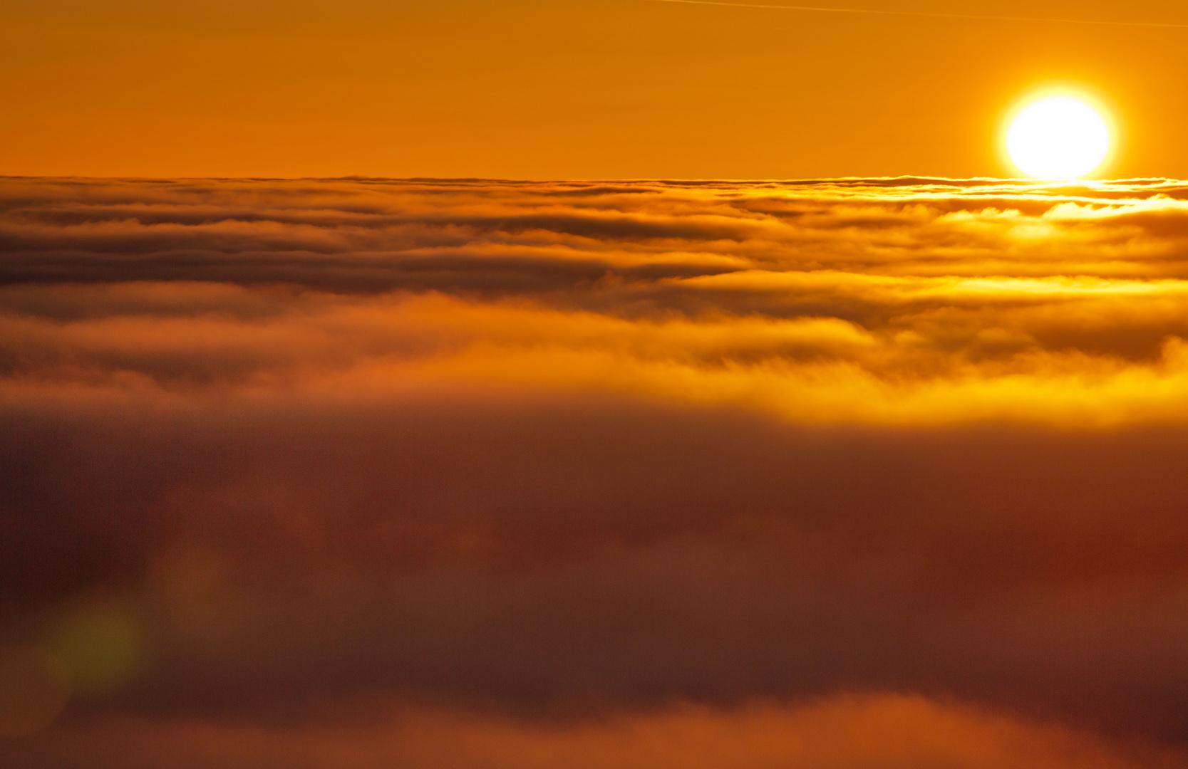 ***28.02.13 Sonnenuntergang auf dem Keilberg***
