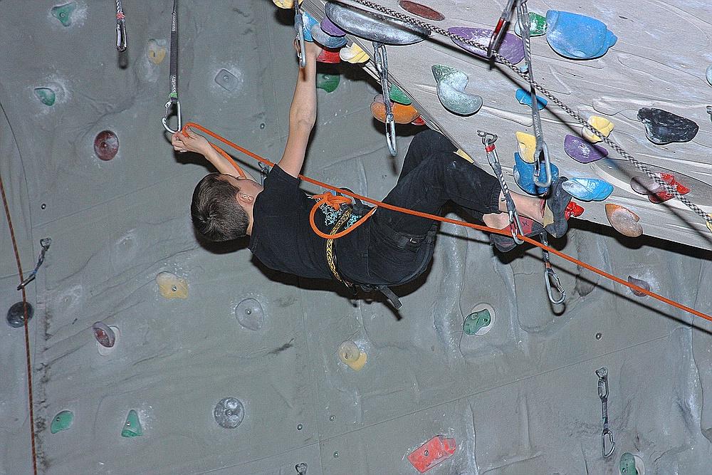 28.03.2013 -LUCA in der Kletterhalle IMST