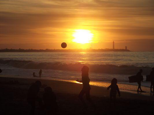 29 Octobre 2011, dernières baignades à l'Ile de Ré...