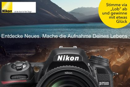 Nikon Foto-Wettbewerb D7500