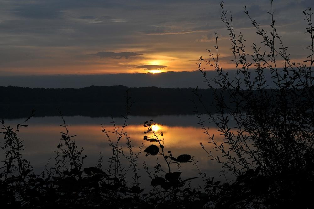 2.Sonnenaufgang am Halterner-Stausee-Südbecken