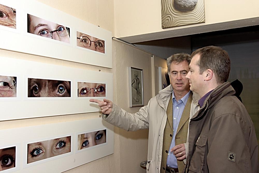 2.tecklenburger fotoherbst --AUGEN-BLICKE--Das Licht überliefert das Sichtbare dem   Auge; das Auge