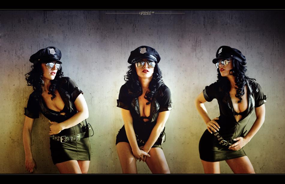 ... 3 Cops für Feisel ...