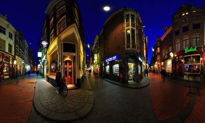 3 Corners in Amsterdam