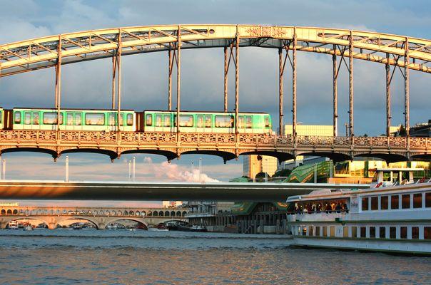 3 génération de ponts parsiens