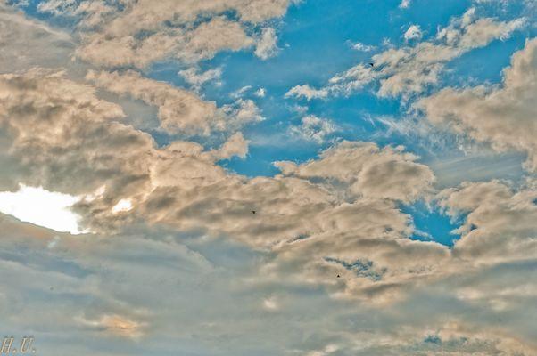 3 Höhenflieger nach Westen