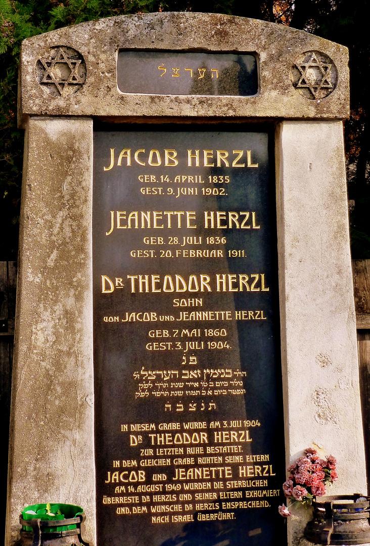 † 3. Juli 1904 - Todestag von Theodor Herzl