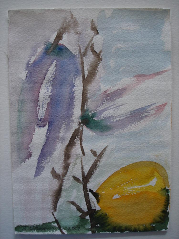 3 kleine Herbstaquarelle (letztes)