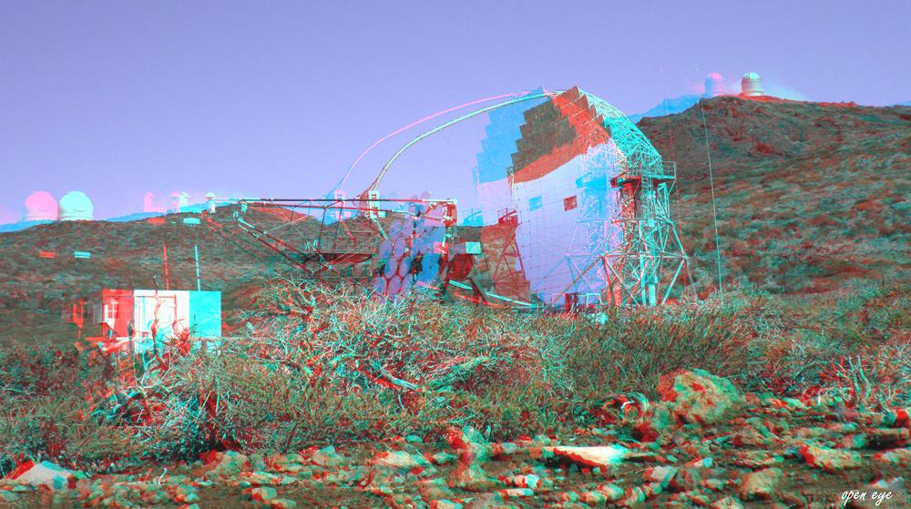 3. _ La Palma _ Spiegelteleskop MAGIC IACT _