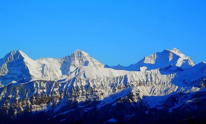 3 Majestäten des Berner Oberlandes