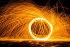 3-Meter-Feuerball...
